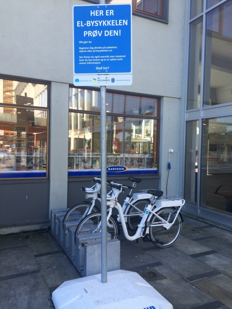 Gobike i dockingstasjon